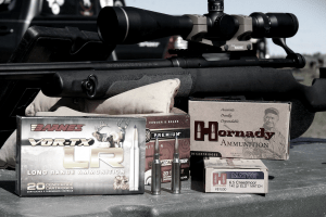M.O.A scope on a Savage SRG test rifle in 6.5 Creedmoor